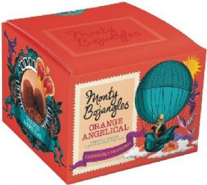 Monty Bojangles French Orange Angelica Cocoa Dusted Truffles 150g